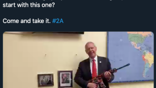 Colo. Rep. Ken Buck publishes controversial tweet daring Biden, O'Rourke to take gun from his office