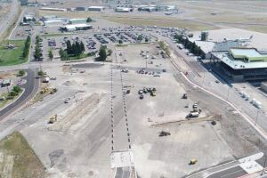Missoula International Airport construction