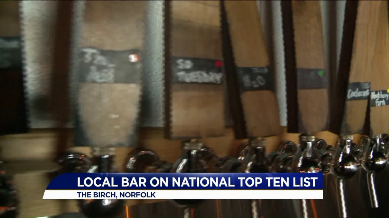 Norfolk bar gains nationalattention