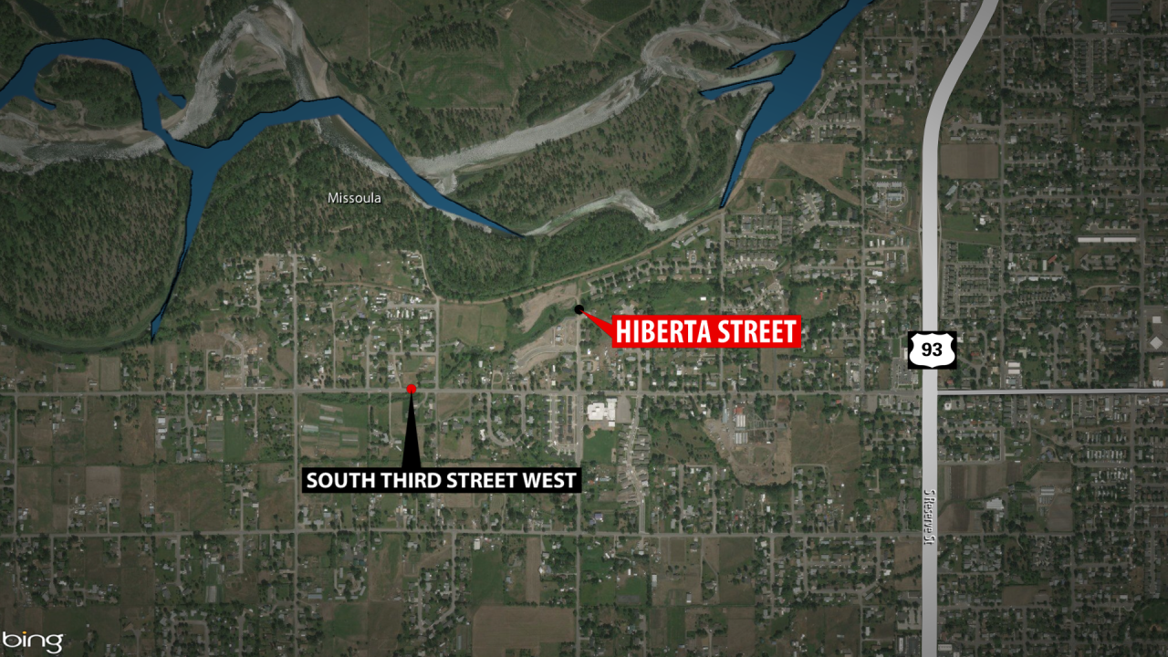 Arnold says the illegal trap was set near the Clark Fork River off of Hiberta Street