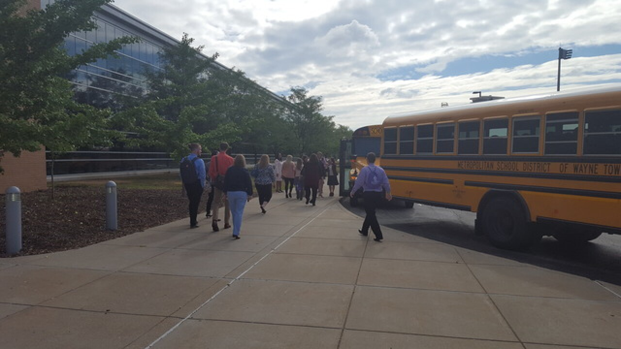 New Wayne Township teachers welcomed with tour