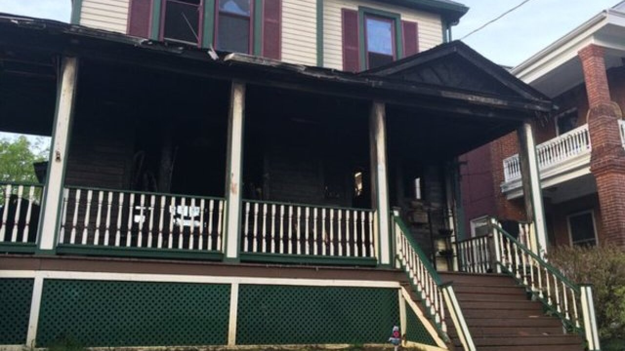 3 women escape burning home in Norwood