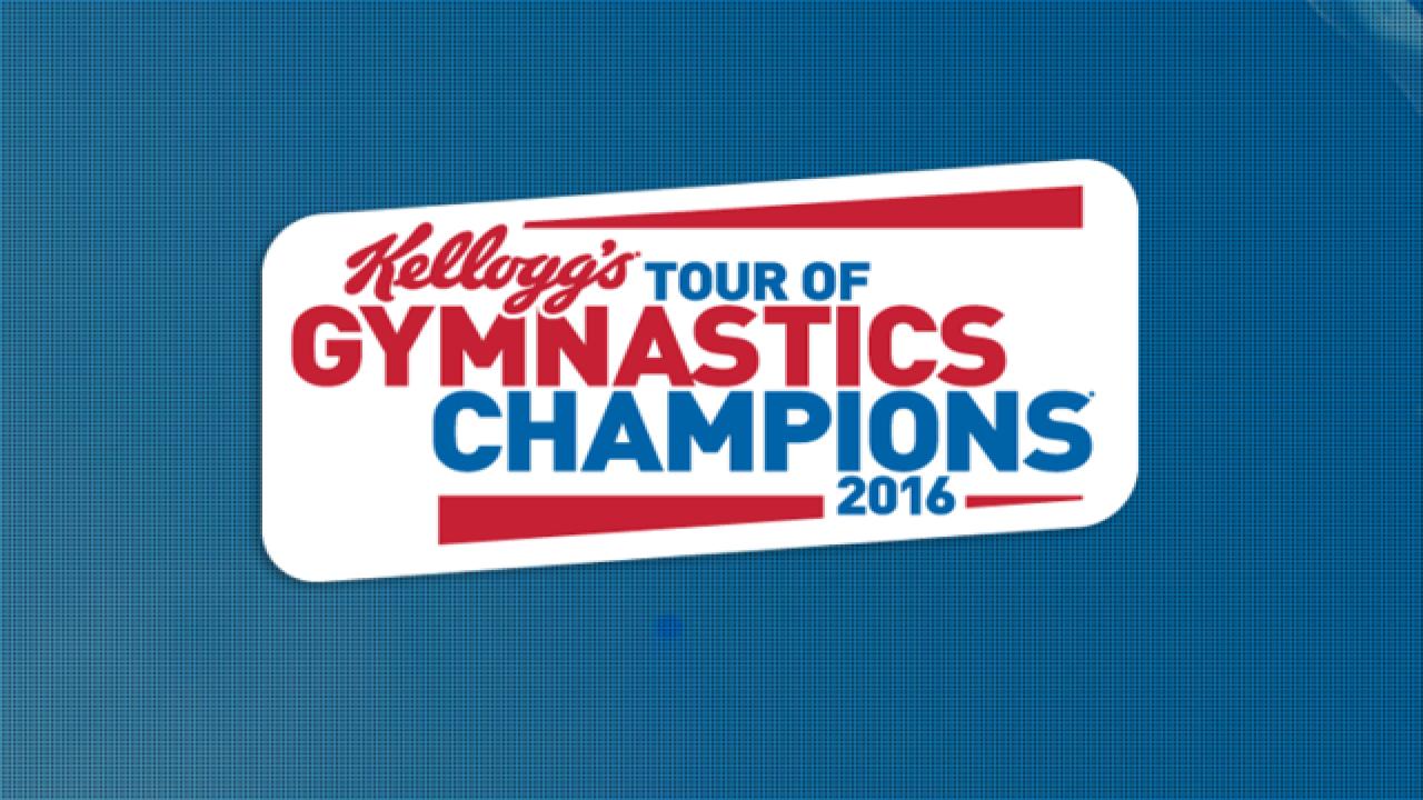 ENTER TO WIN: Tickets to Kellogg's Tour of Gymnastics