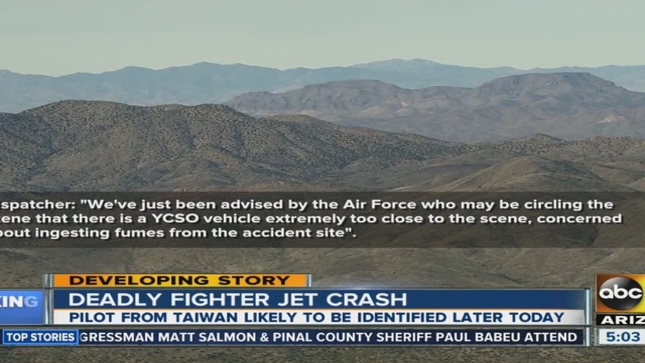 Official: F-16 reportedly crashes near Bagdad