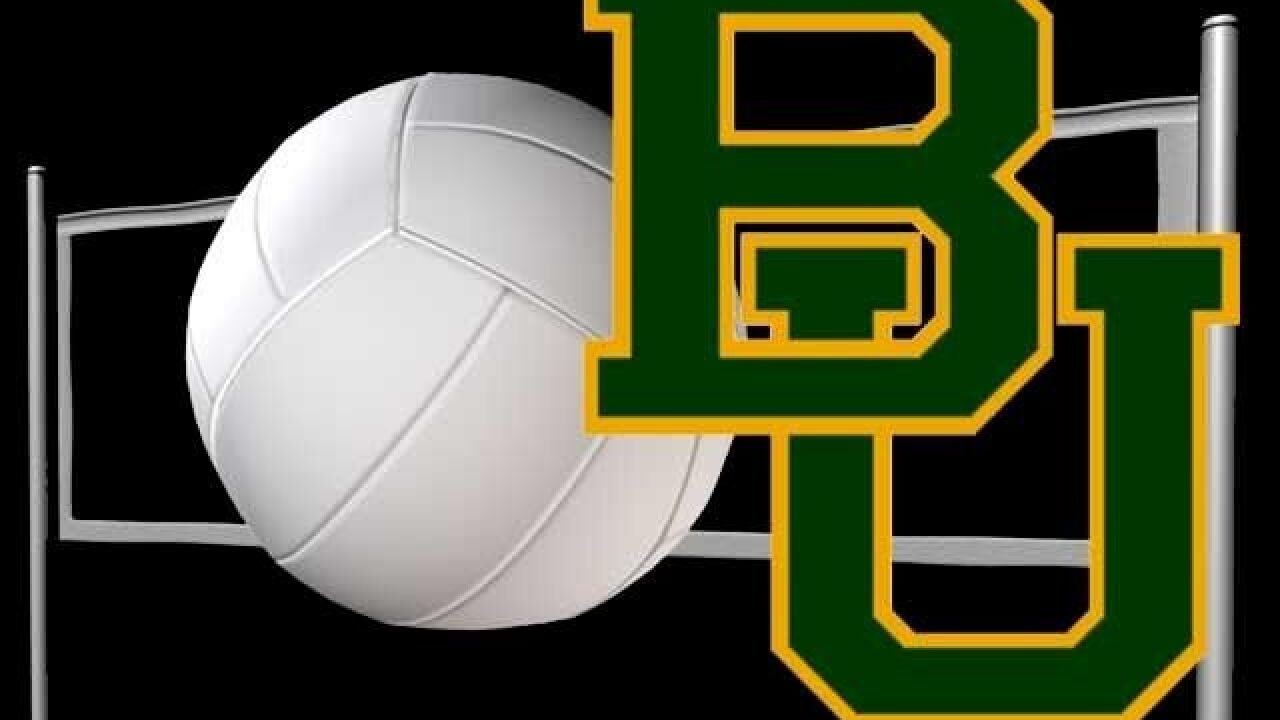 Baylor Volleyball Lands Three on Academic All-Big 12