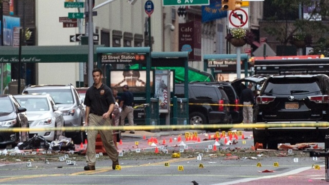 NY governor: Blast not linked to overseas terror