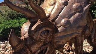 Clairemont family searching for stolen sculpture