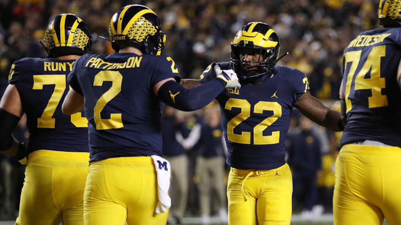 Michigan surges to No. 6 in AP Top 25, Michigan State returns