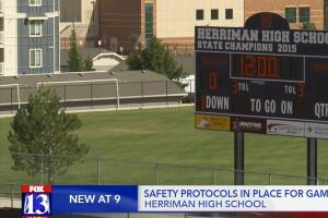Safety protocols in place for football game Thursday