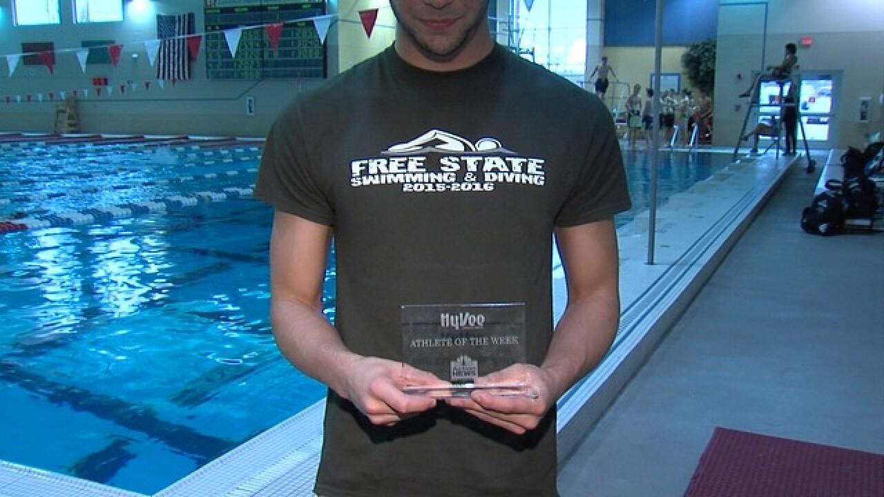 Jordan Portela Continues Family Swim Tradition