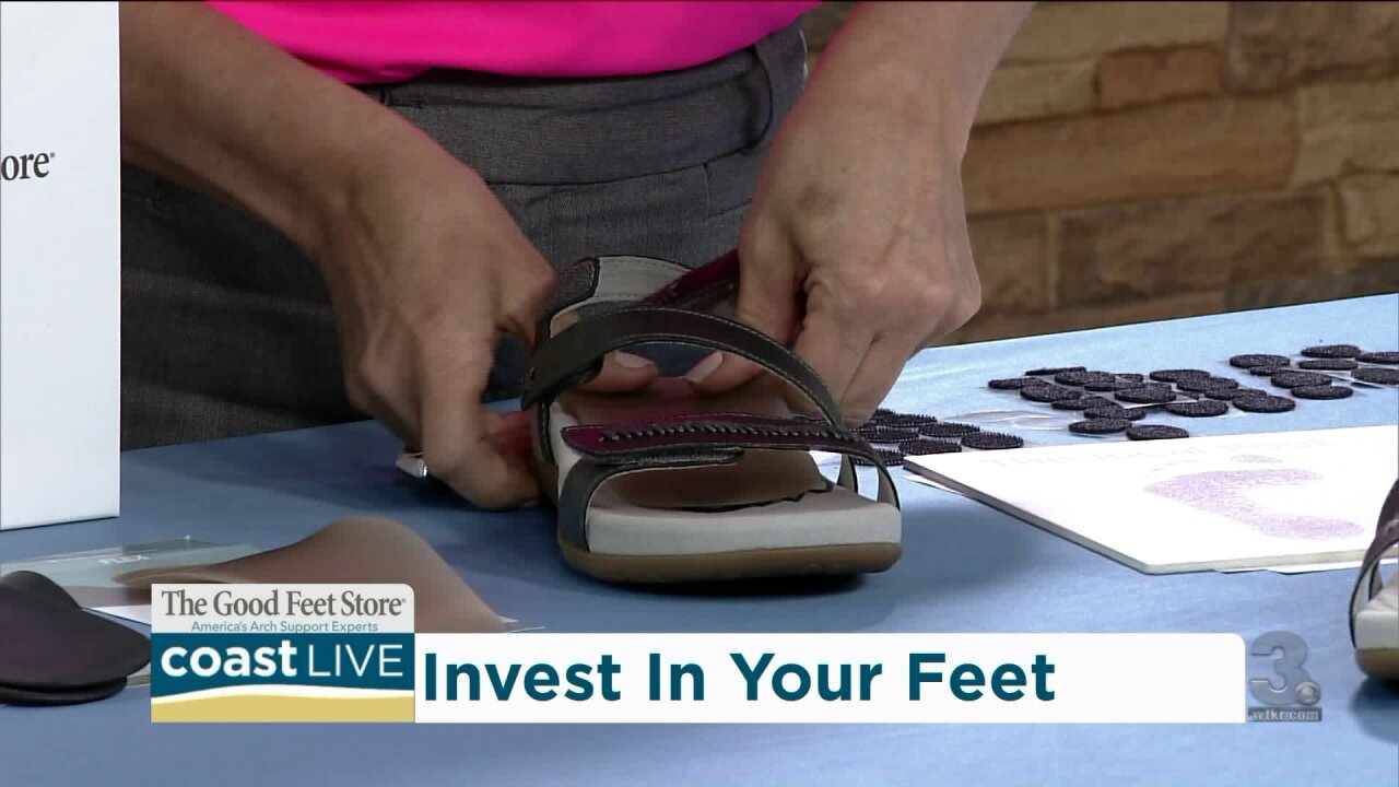Investing in your feet before traveling on CoastLive