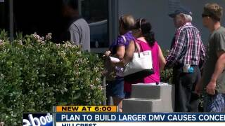 Shorter lines? Larger DMV planned for Hillcrest