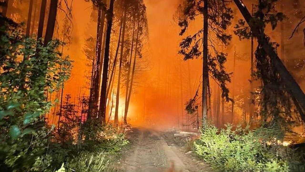 Anderson Hill Fire