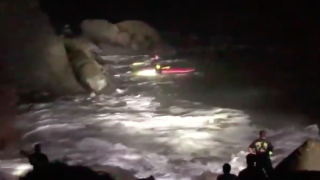Video captures firefighters' dramatic rescue of man in San Francisco
