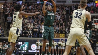 Purdue defense bottles up No. 8 Spartans in upset