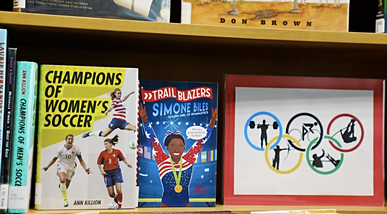 The Olympic section at Capital Area District Libraries