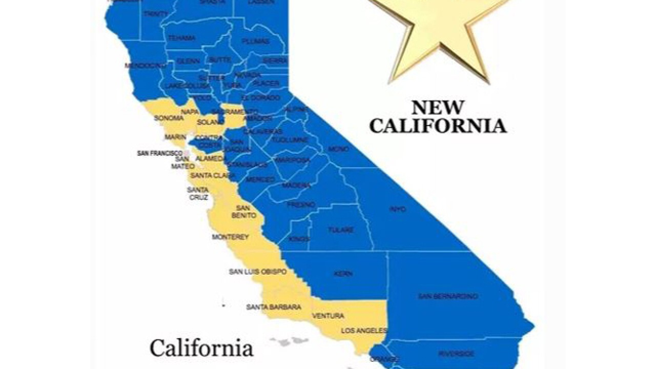 'New California' declares independence; hopes to become 51st state