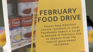 February food drive