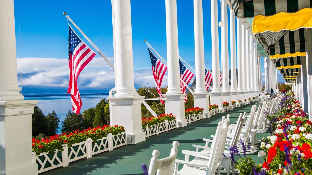 Grand Hotel On Mackinac Island Named Among Best Hotels In