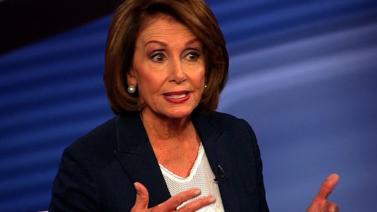 Nancy Pelosi at Trump's DACA dinner: 'Do the women get to talk around here?'