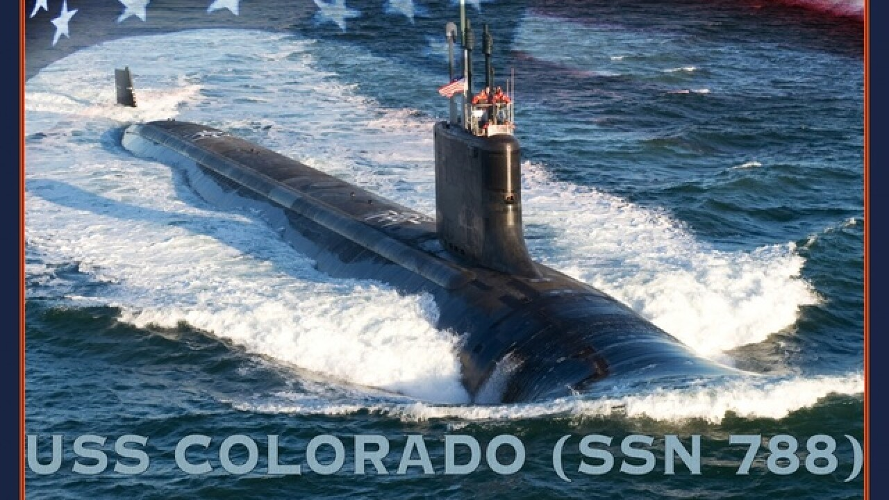 Navy's new attack submarine USS Colorado to join the fleet