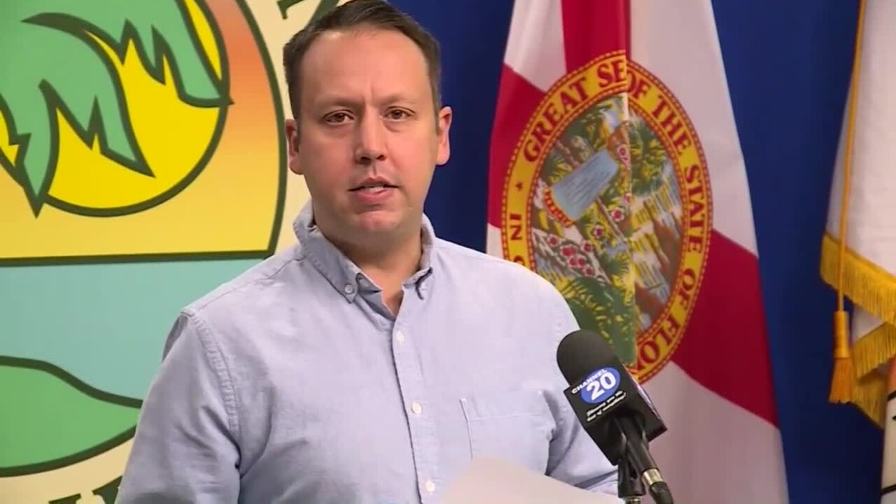 Palm Beach County Mayor Dave Kerner, Oct. 2, 2020