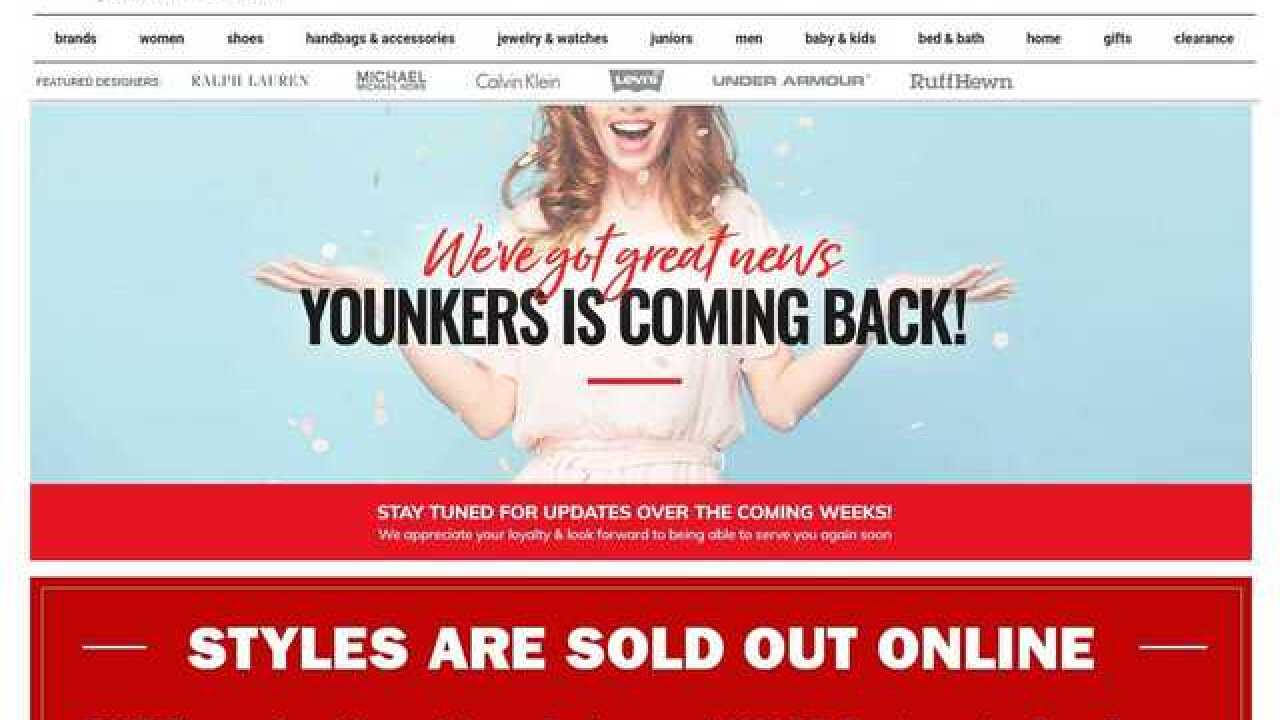 Online message hints Bon-Ton stores, including Younkers, may come back