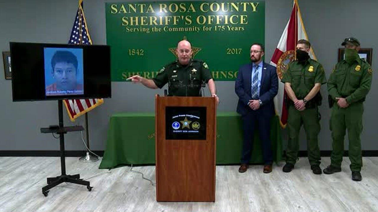 Santa Rosa County (Fla.) Sheriff Bob Johnson