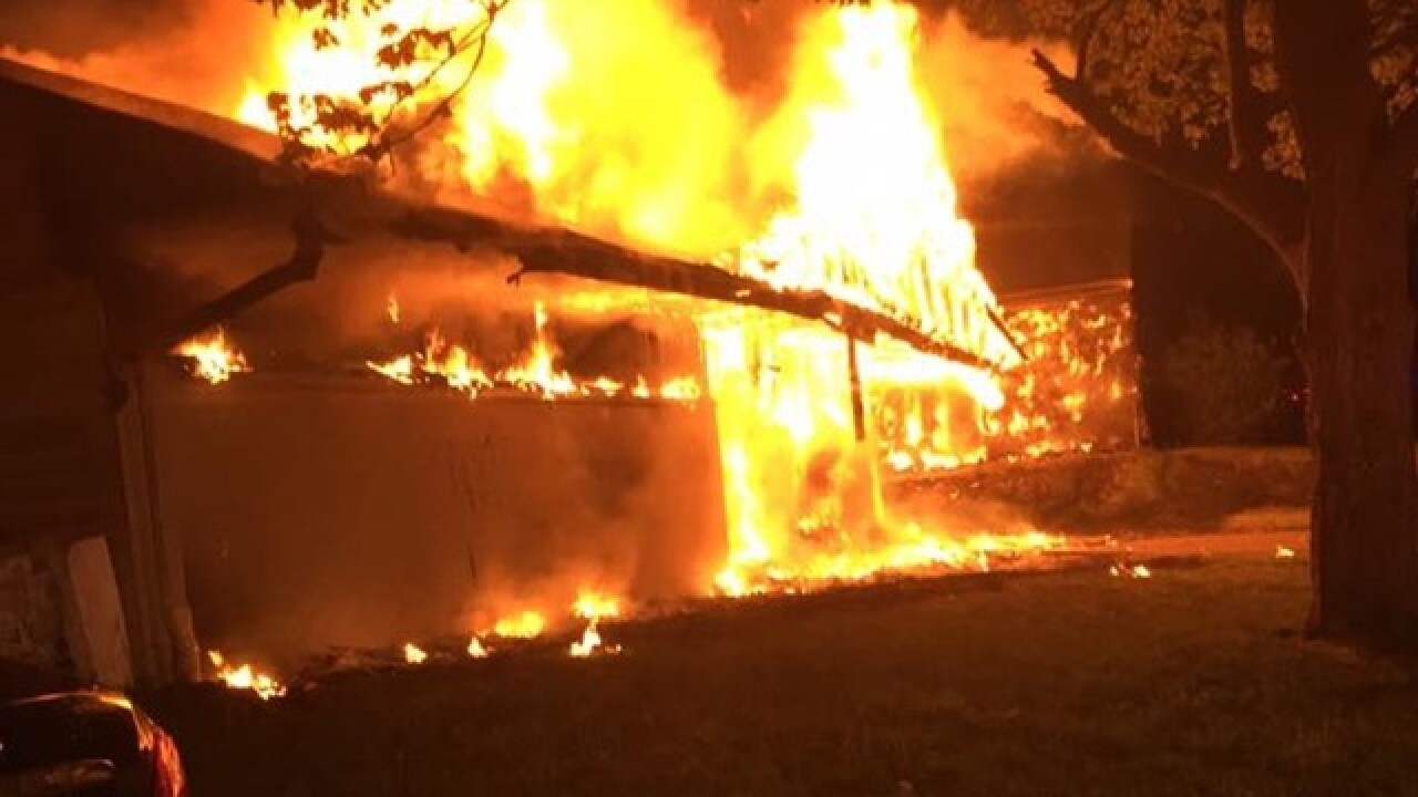 Two homes destroyed in Springfield Twp fire