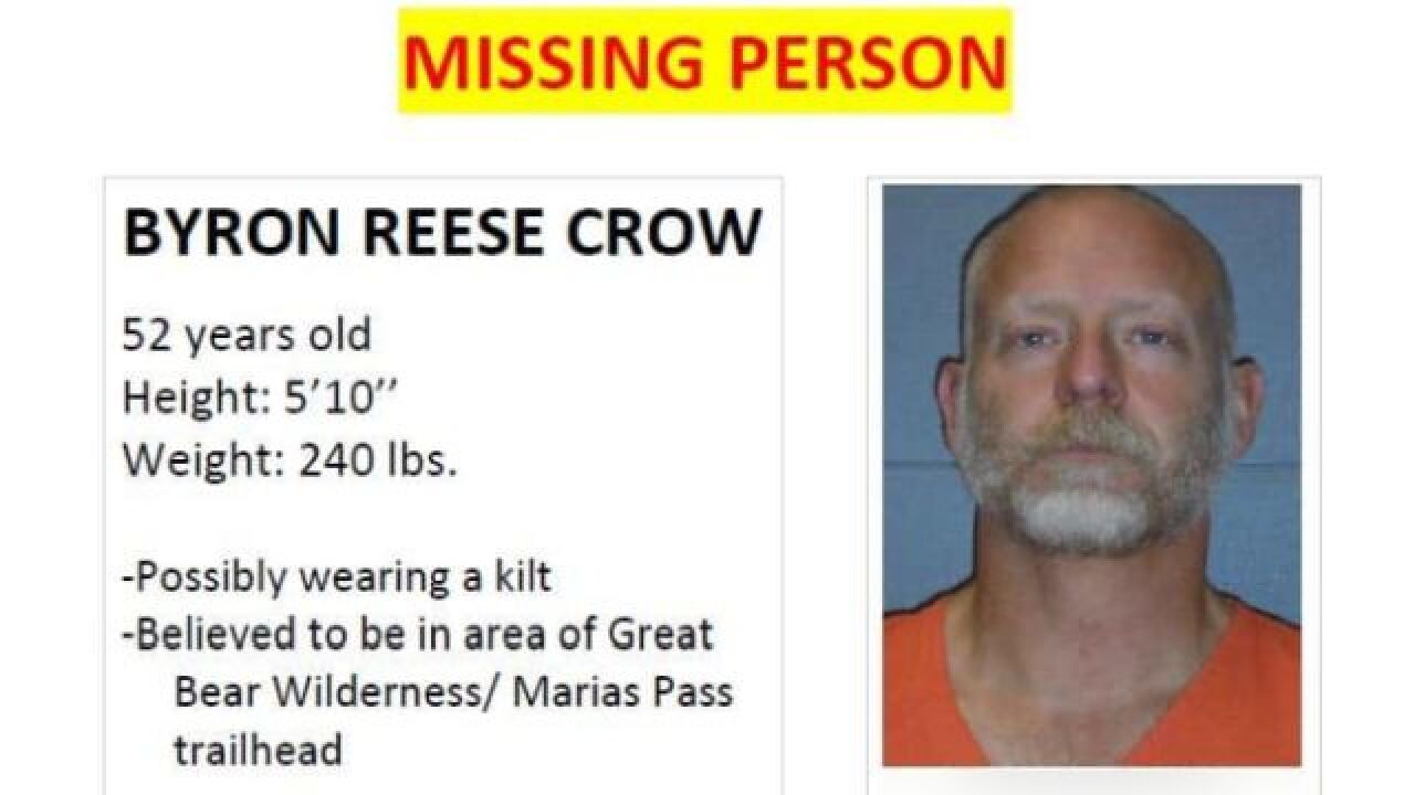 Authorities are asking for the public's help in finding Bryon Reese Crow