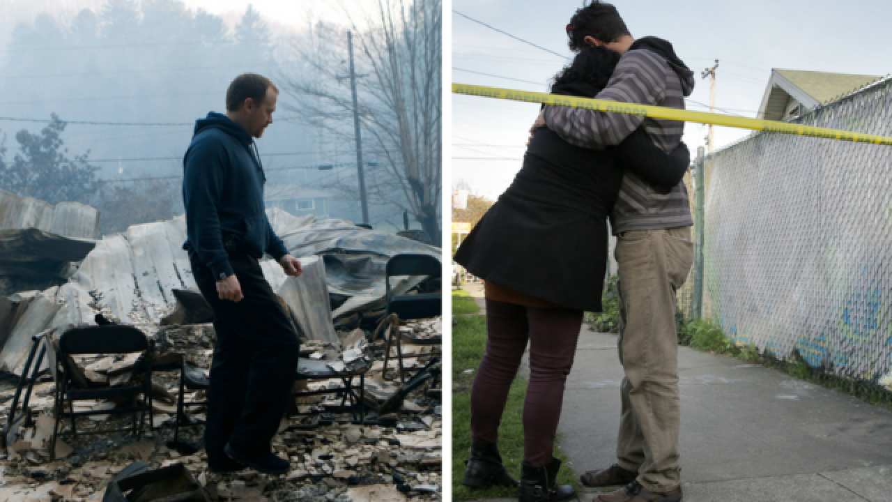 Here's how you can help the victims of fires in Oakland and Gatlinburg