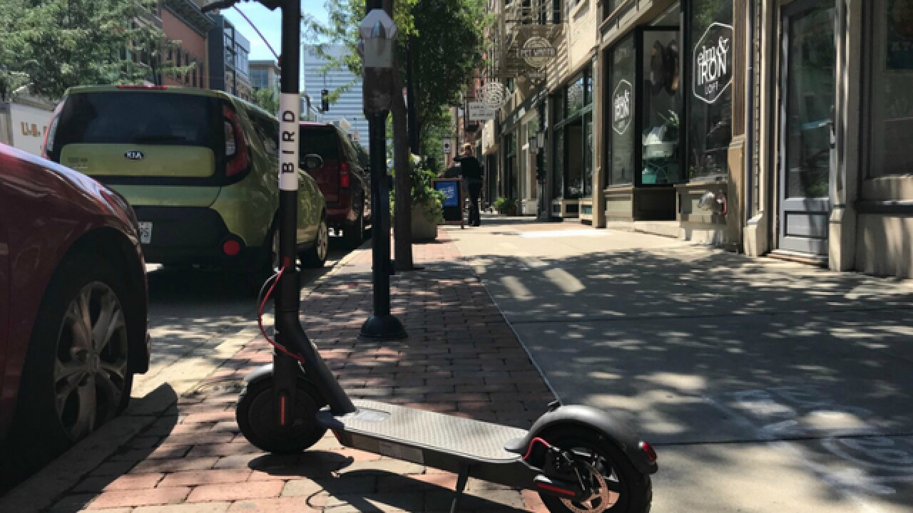 What are other cities saying about electric scooter rentals?