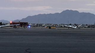 Plane makes hard landing at Chandler Airport