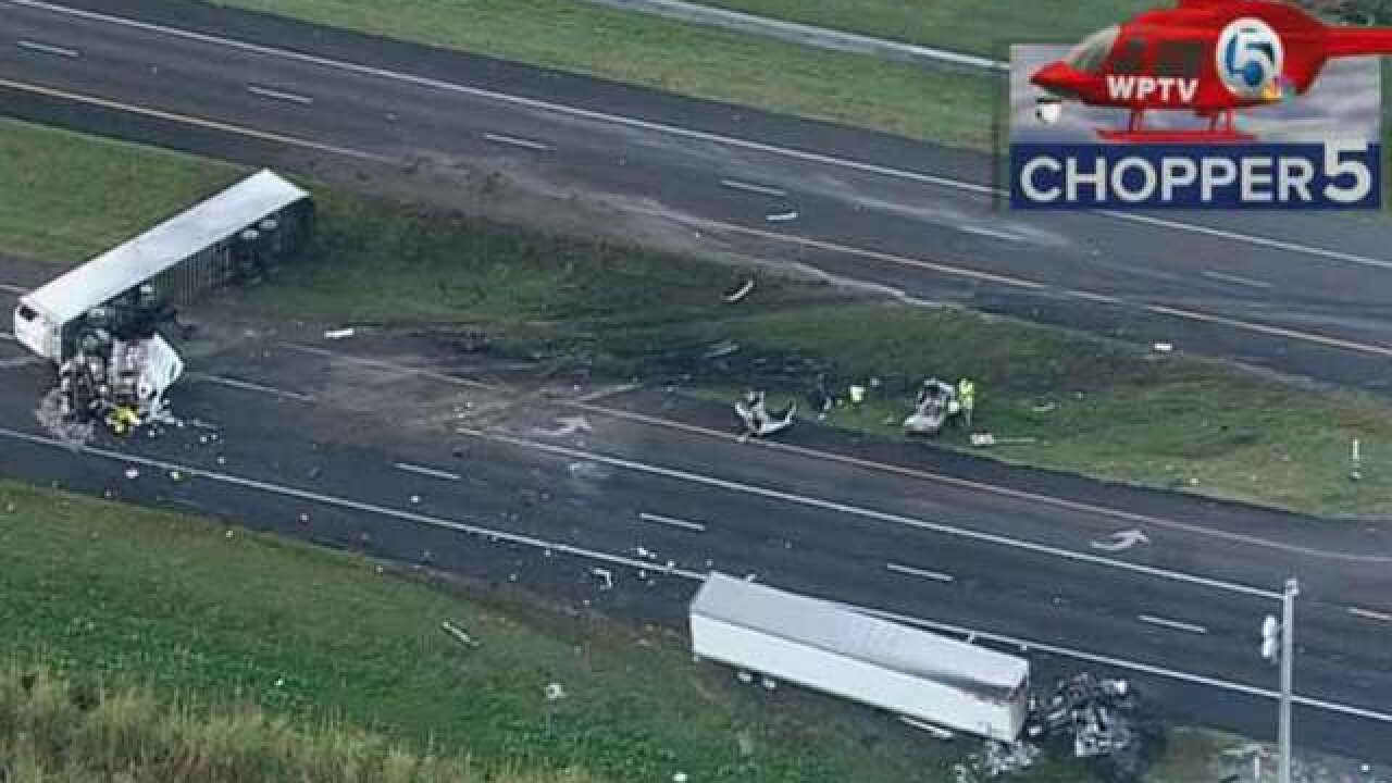 2 dead in Belle Glade 3-vehicle crash ID'd