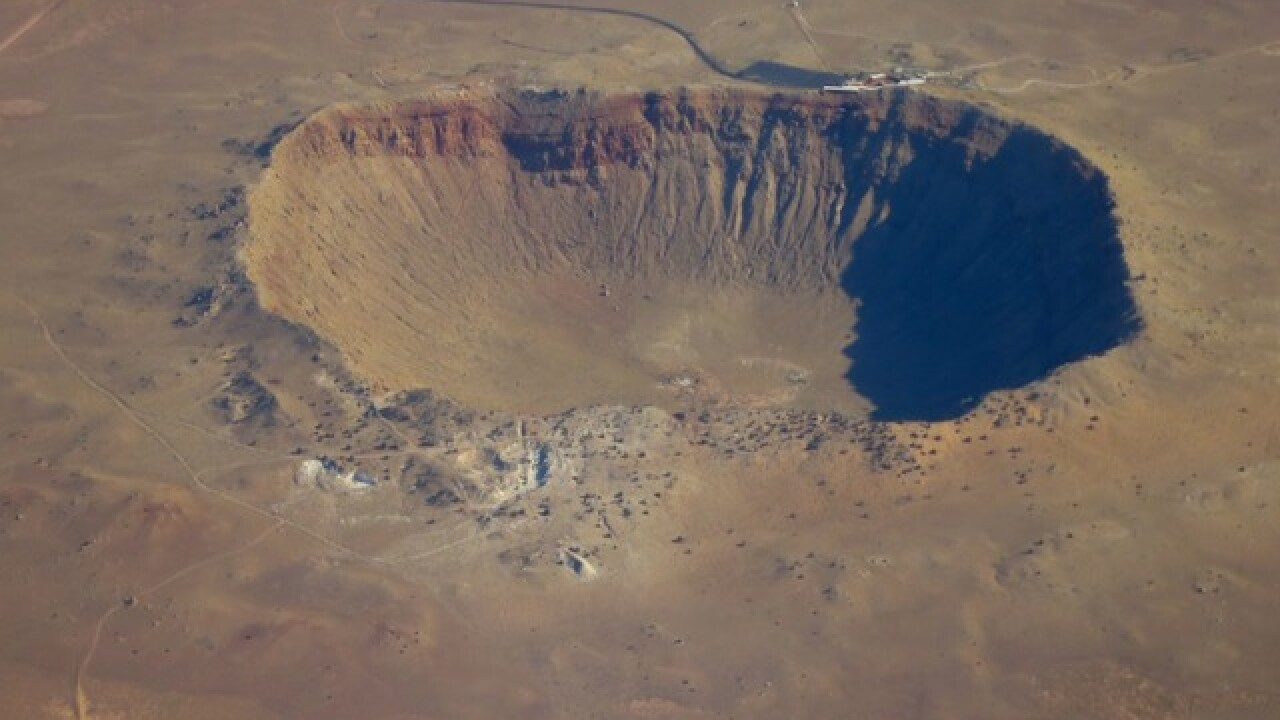 BOOM! World's biggest meteor crater is in AZ