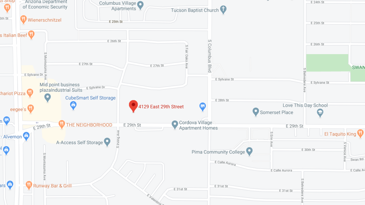 Three Shot in Tuscon, AZ