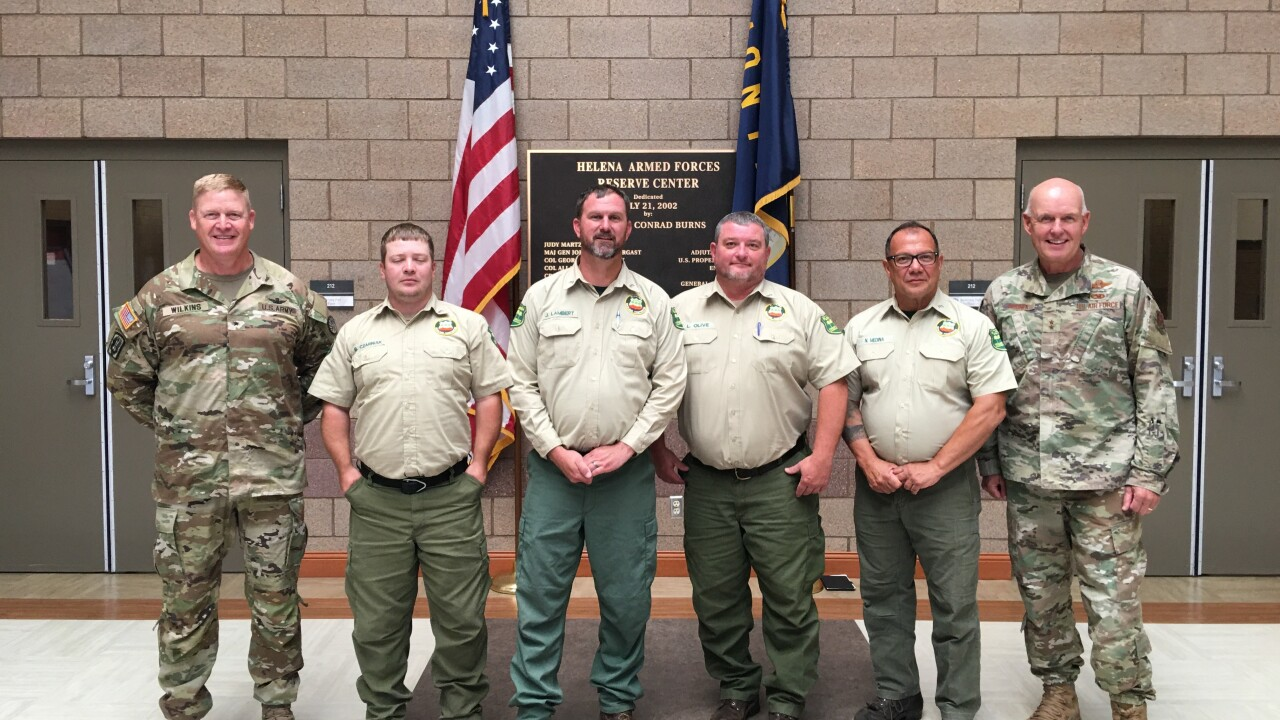 Florida wildland firefighters help train 500+ Montana National Guard as wildfire activity increases Florida Forest Service