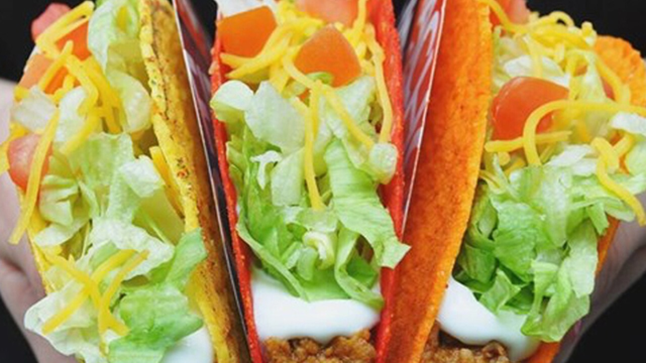 Free Taco Bell: Score a Doritos Locos Taco from 2-6 p.m. today