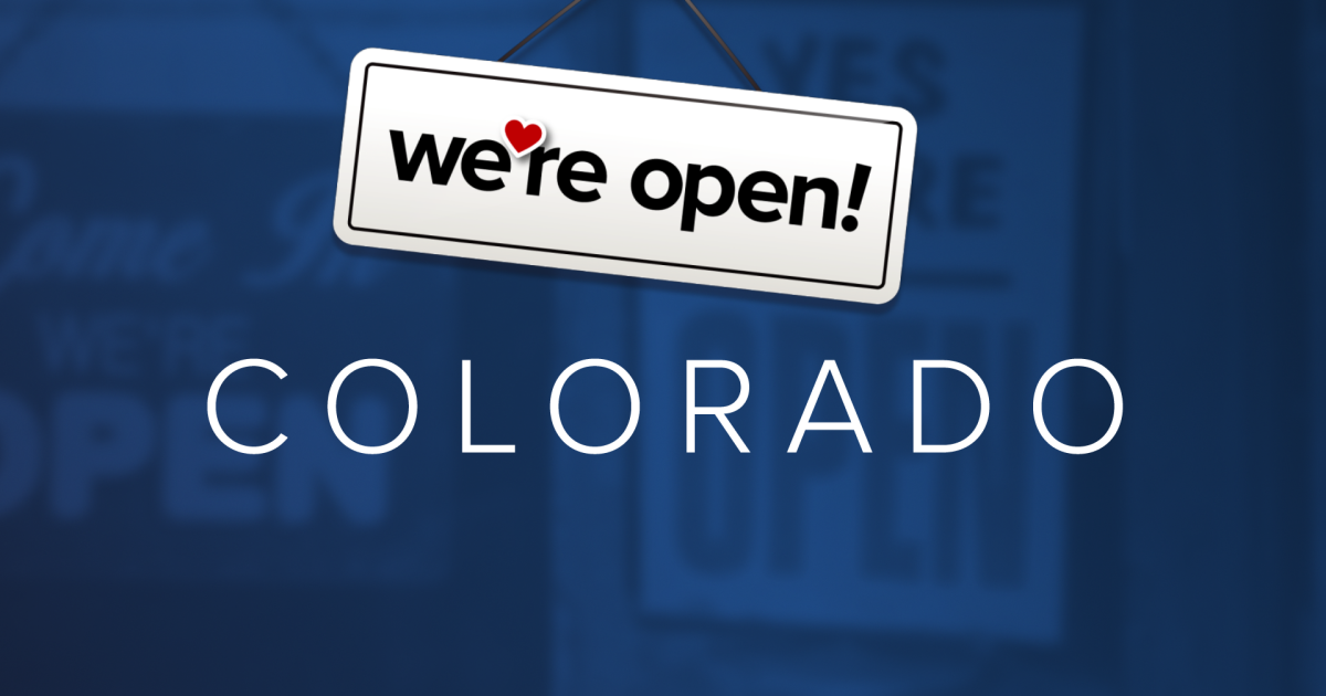 'We're open Colorado': These businesses are ready to serve you during the COVID-19 outbreak