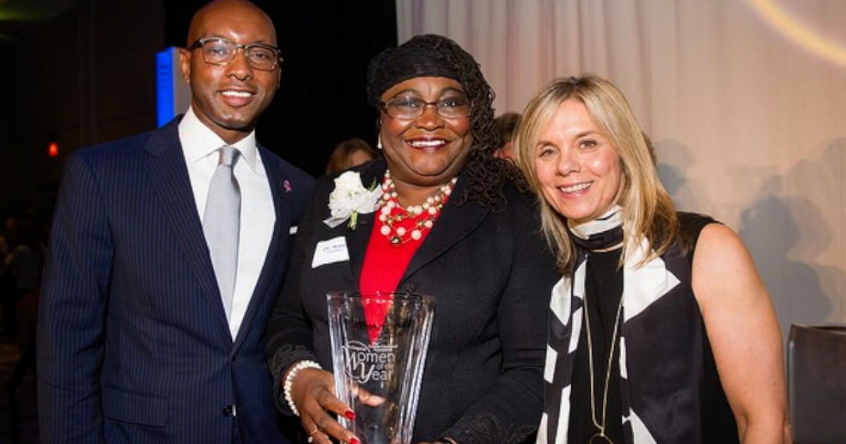 Cincinnati health care leader Karen Bankston 'inspires anyone, no matter who you are'