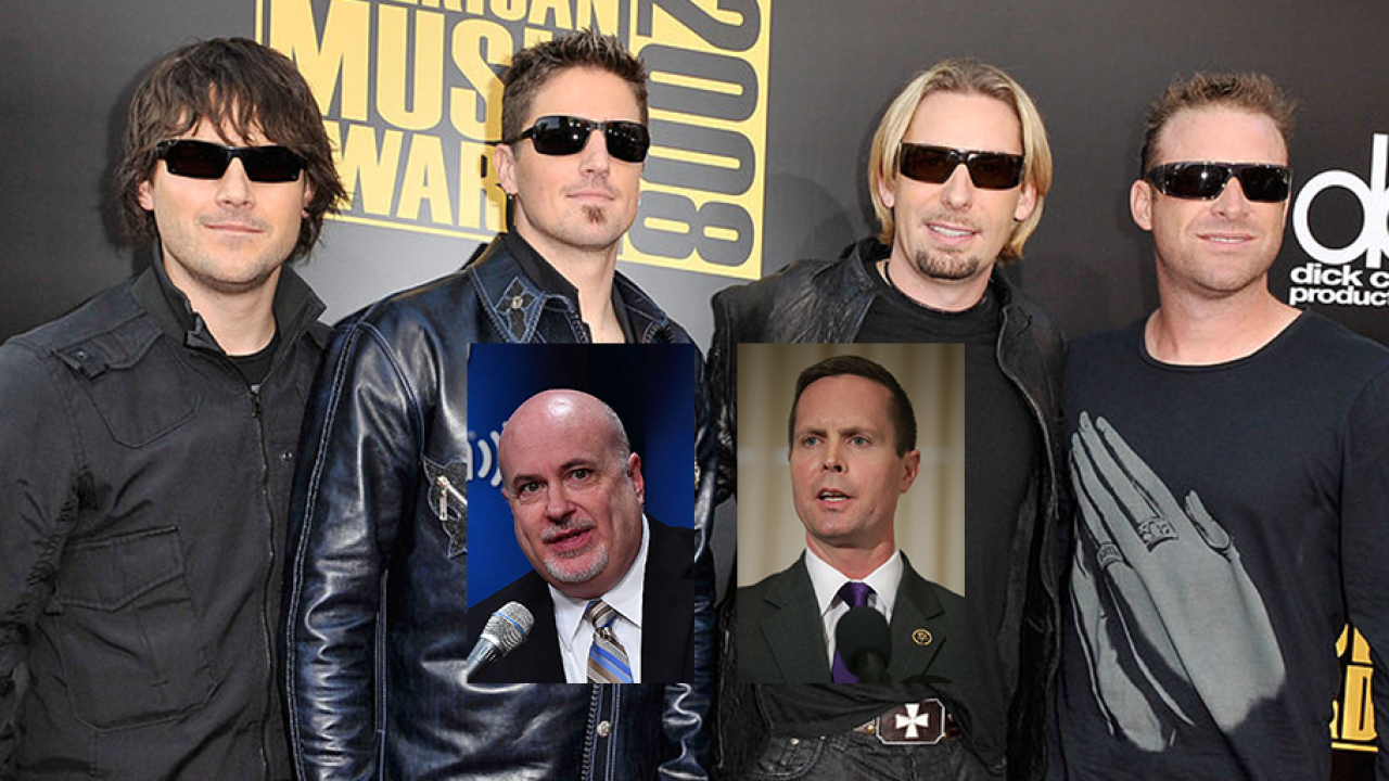 Congressmen debate Nickelback's popularity on House floor