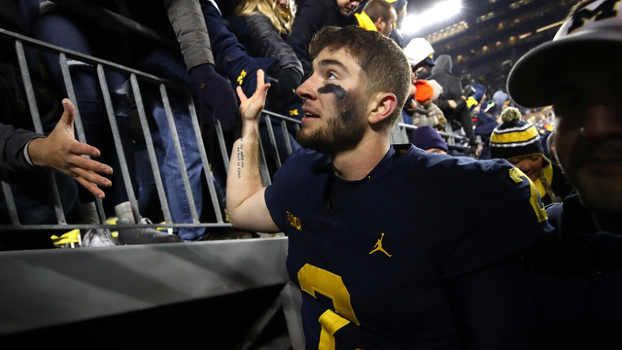 Status quo atop AP Top 25 Poll: Michigan remains No. 4