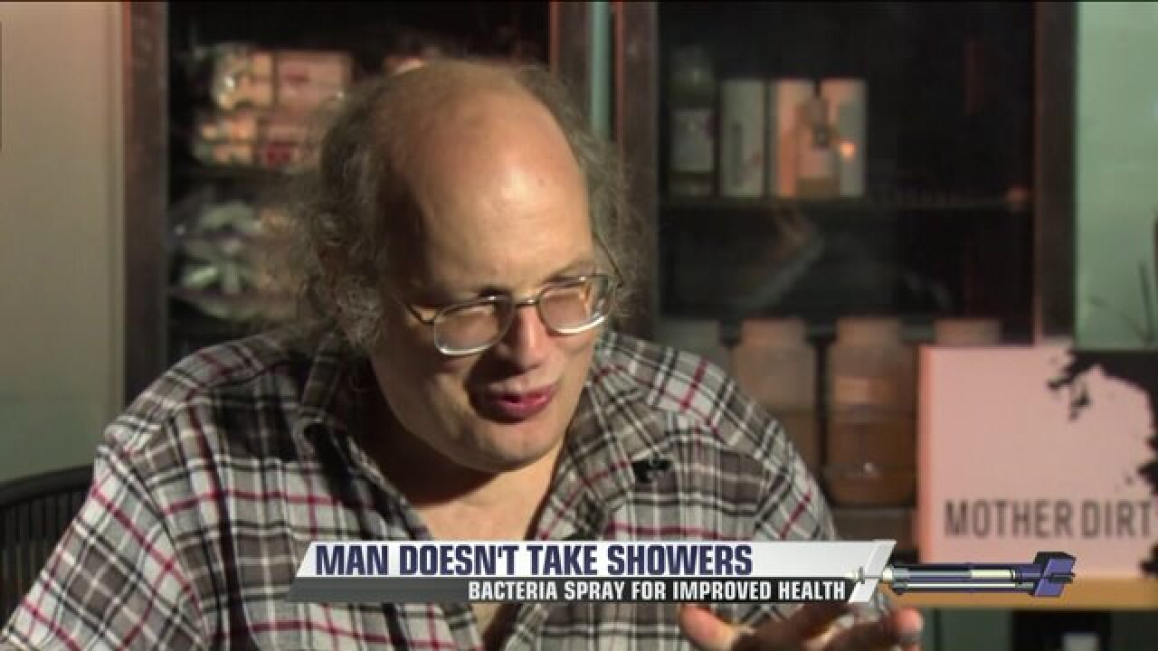 Engineer says new product allowed him to skip bathing for 12 years