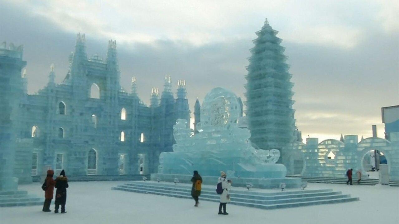 WPTV China ice festival