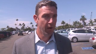 Supporters gather to hear Rep. Duncan Hunter