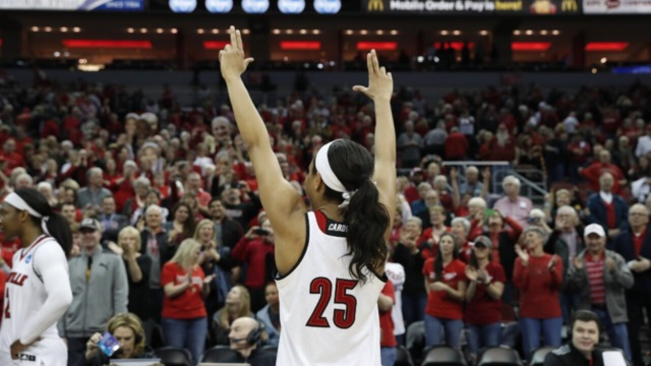 Top-seeded Louisville Women Run Past Marquette 90-72 In NCAA