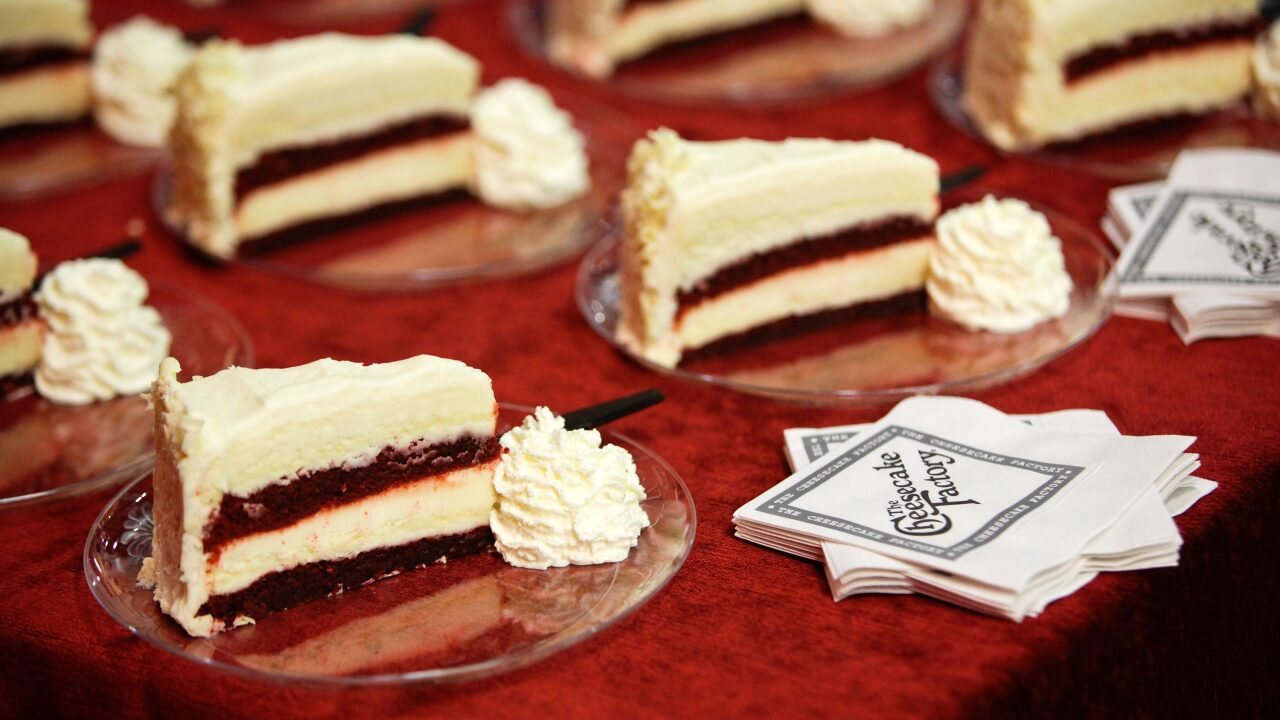 You can get 2 free slices of cheesecake when you buy a Cheesecake Factory gift card
