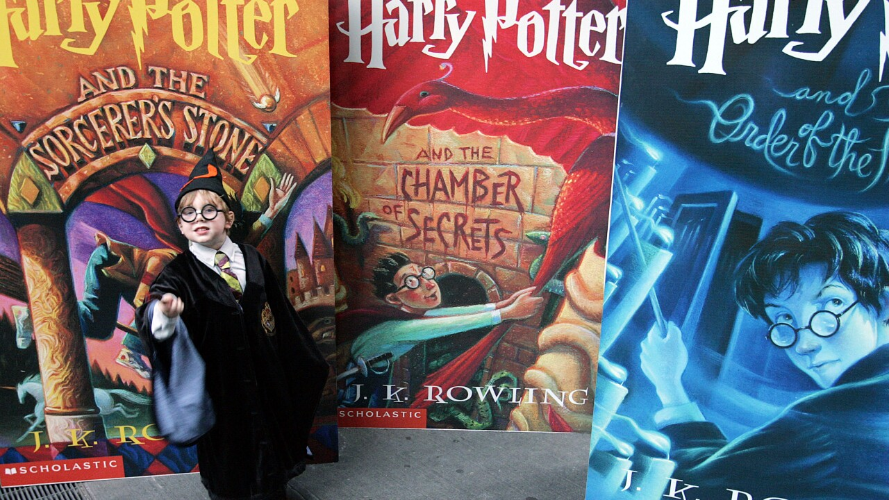 "Sixth ""Harry Potter"" Book Goes On Sale"