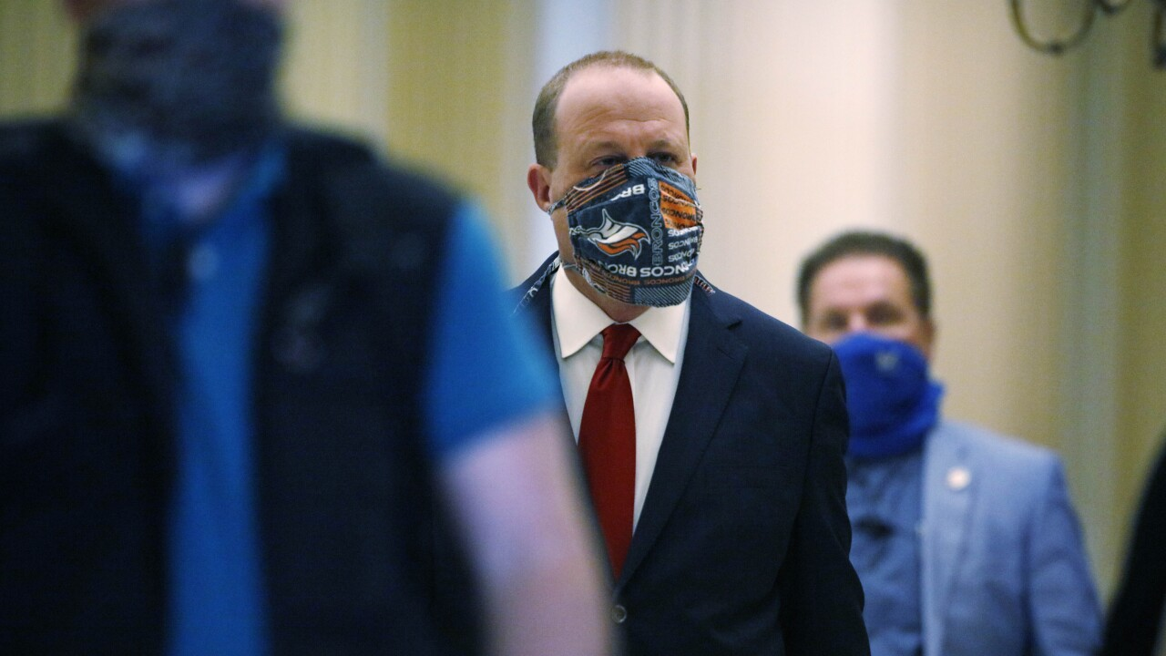 jared polis mask coronavirus covid colorado