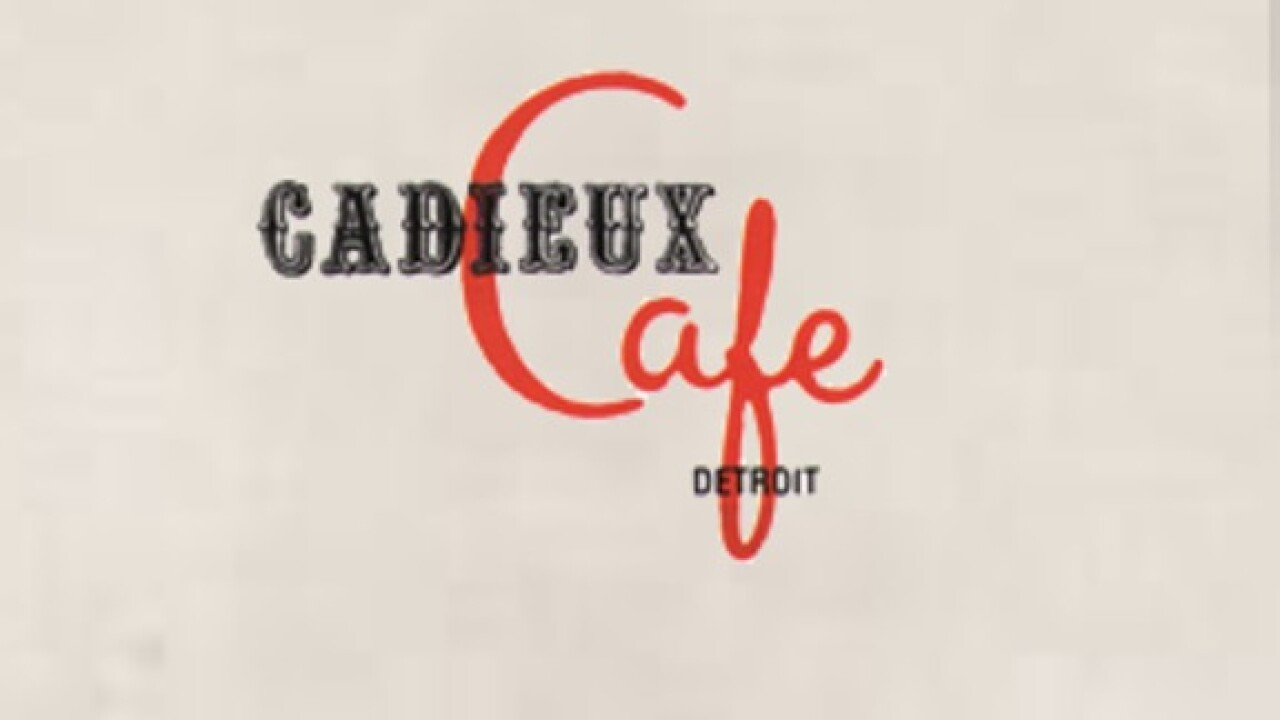 Cadieux Café will be under new ownership